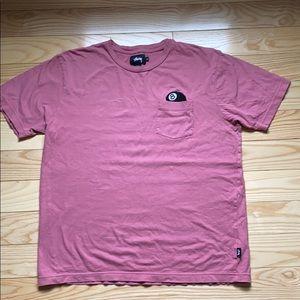 8-ball stussy shirt